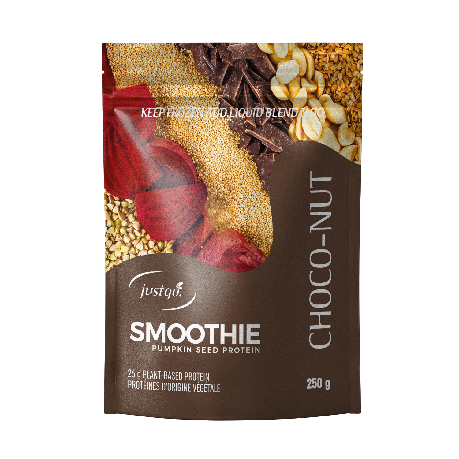 Choco-Nut Full Pack - Just Go Smoothie