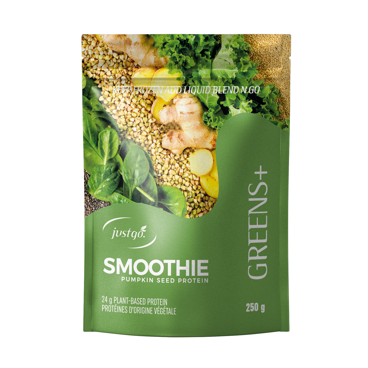 Greens+ Full Pack - Just Go Smoothie